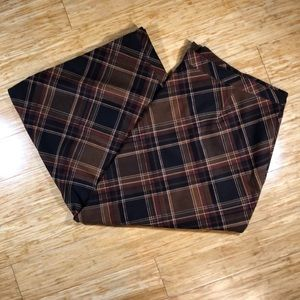 Notations 3X Plaid Skirt